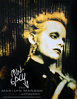 Madonna Wayne Gacy Signed Photo