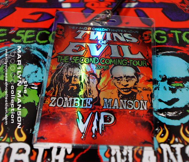 Twins Of Evil VIP Laminate