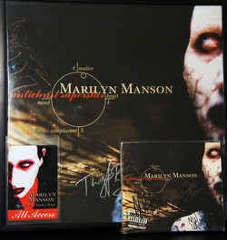 Antichrist Superstar Signed Vinyl