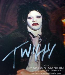 Twiggy Ramirez Signed Poster