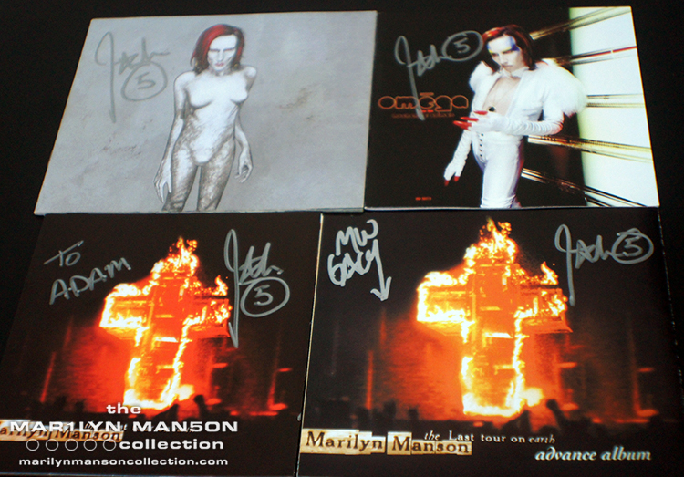 John 5 Signed CD Booklets