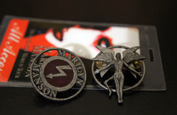 Antichrist Superstar Era Pins