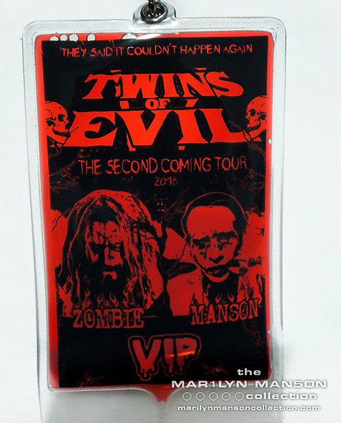Twins Of Evil Rob Zombie And Marilyn Manson Blood Pass 2