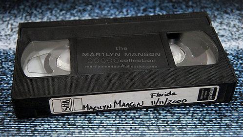 John 5 Owned Marilyn Manson Florida 2000 VHS