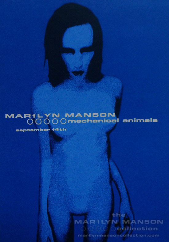 Mechanical Animals Promo Postcard