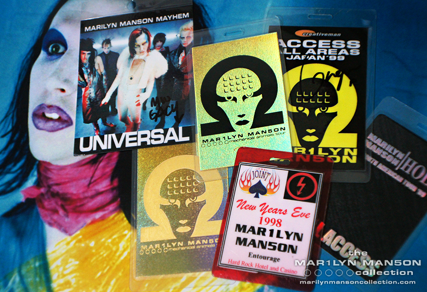 Mechanical Animals Era Laminates
