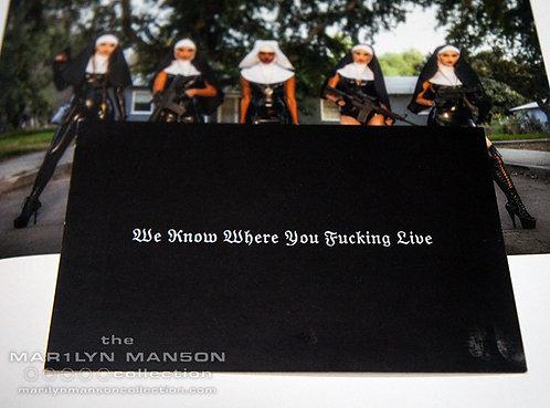 WKWYFL Promo Postcard
