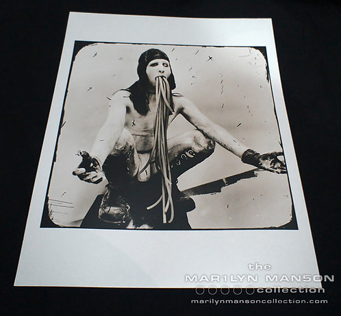 Joseph Cultice Marilyn Manson Antichrist Era Photo Print 2
