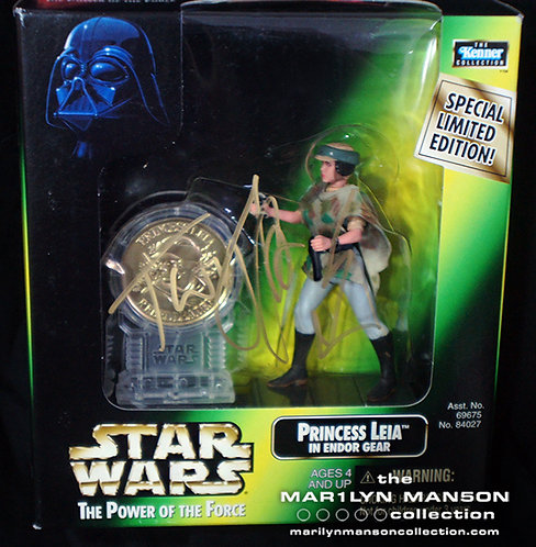 Twiggy Ramirez Owned And Signed Star Wars Figure