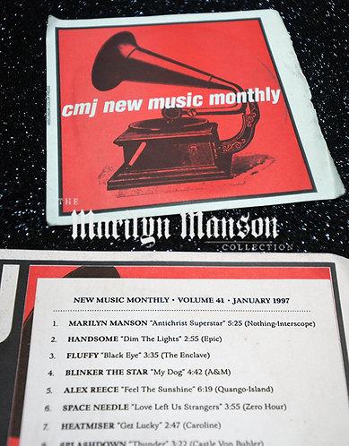 CMJ Antichrist Superstar Alternate Ending Sampler CD