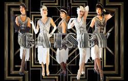 Gatsby Dancer, Flappers, Wedding