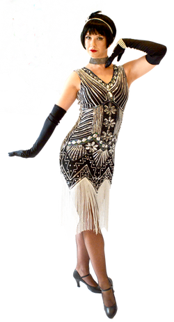 corporate entertainment, flappers,