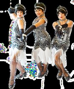 Flapper Dancers, Gatsby, Showgirls