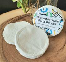 Hemp Facial Rounds