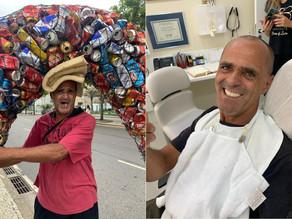 Ex-catador ganha tratamento dentário com ajuda do Instituto Bees of Love