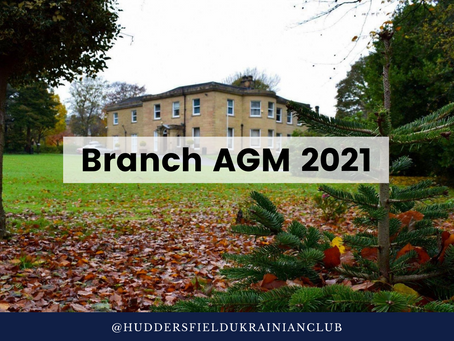Notice of Branch AGM 2021