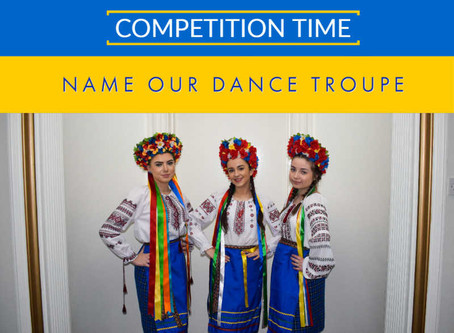 Competition: Name our Dance Troupe