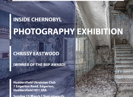 More about our upcoming Chernobyl Photo Exhibition