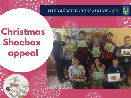 Christmas Shoebox Appeal 2020