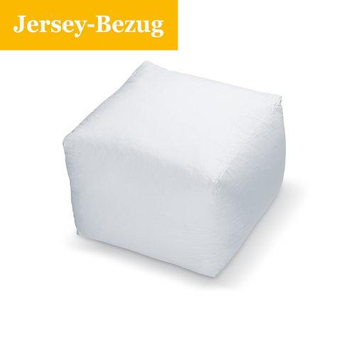 Jersey Bezug für Würfel- bzw. Stufenbettkissen