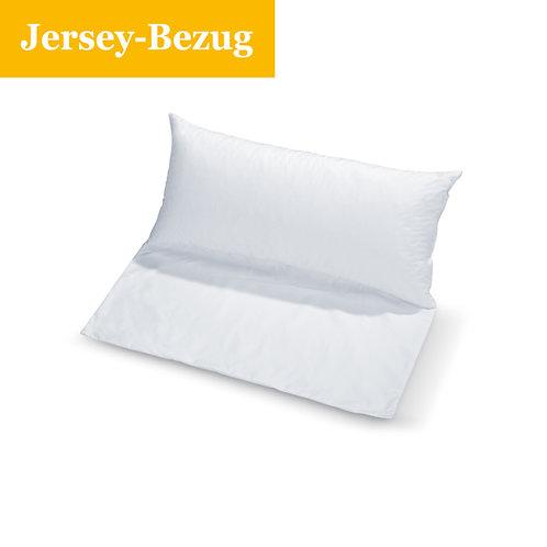 Jersey Bezug für Rückenstützkissen mit Fahne oder Venenkissen