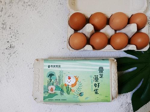 【靈芝藻好蛋X16盒】全蛋料理香噴噴