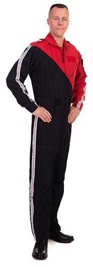 Men's Nomex Flight Suit Two-Tone Diagonal