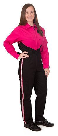 Women's Flightsuit Two-Tone V-Front