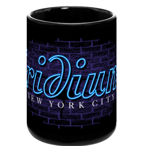 Iridium Black Neon Coffee Mug