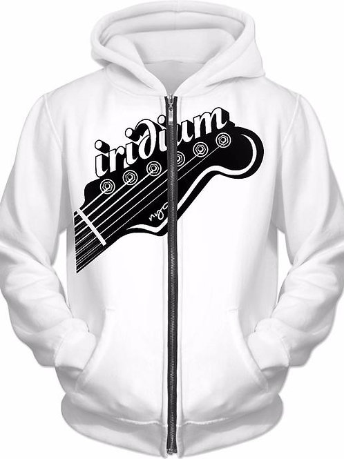 Iridium Guitar Head Hoodie