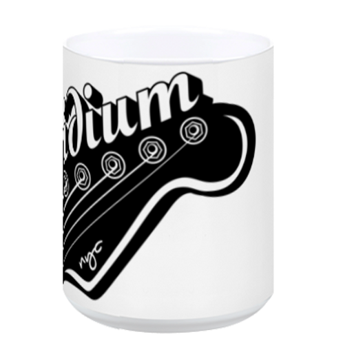 Iridium Guitar Head Coffee Mug