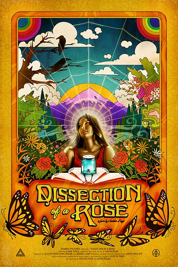 Dissection of a Rose Poster