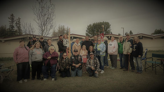 Tribal Members at the 2017 Fall Gathering in St. Ignace, Michigan