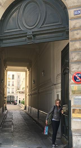 Montparnasse, where I lived during my student days