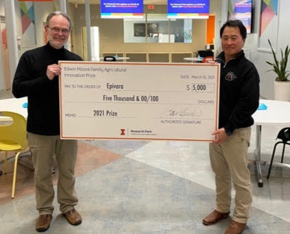 Epivara Awarded 2021 Edwin Moore Family Agriculture Innovation Prize