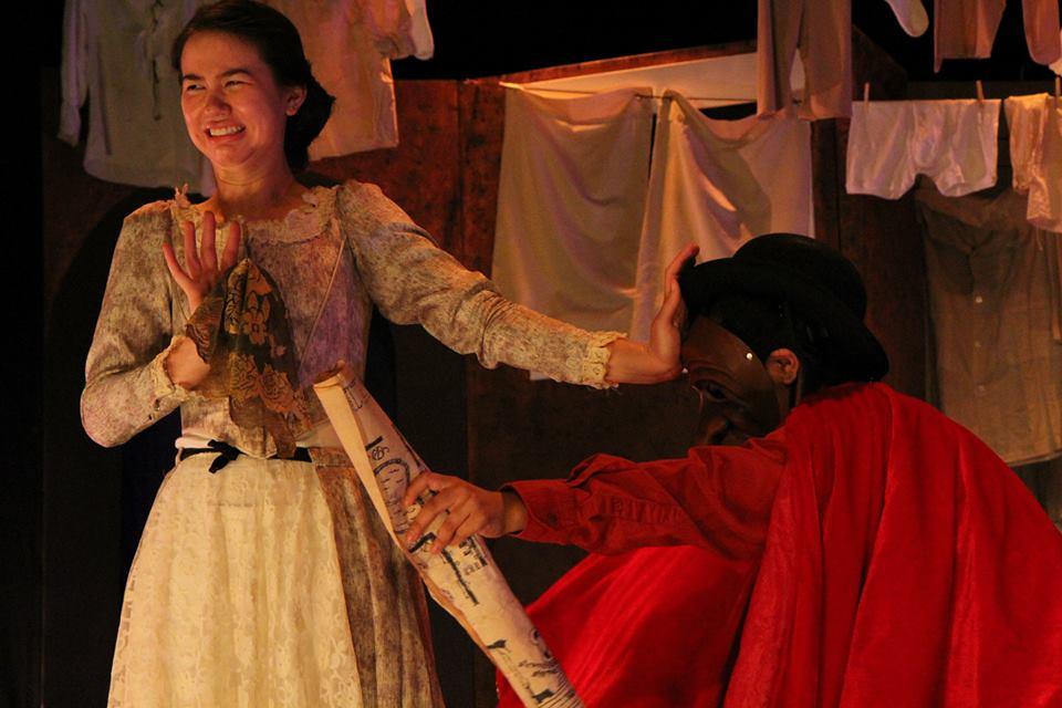 Isabella with Pantalone