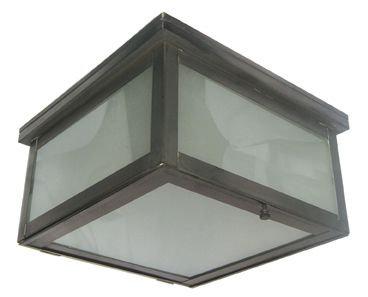 Square Dark Ceiling Light