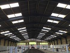 Lancaster steel building