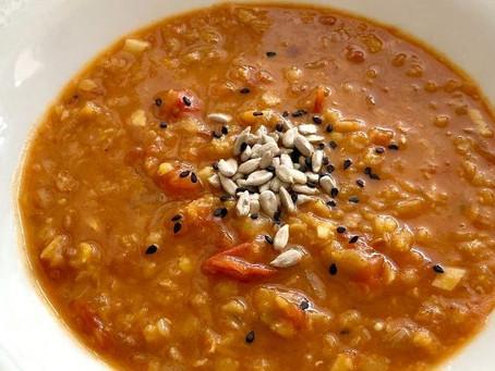 👩🍳Hřejivá polévka z červené čočky