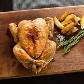 👩🍳Pečené kuře s křupavou kůrkou a šťavnatým masem