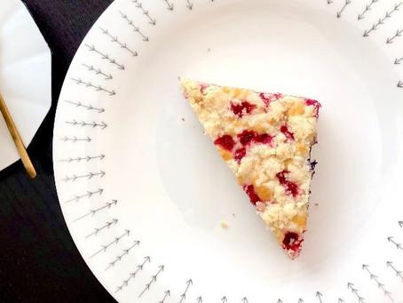 👩🍳Letní ovocný koláč s drobenkou