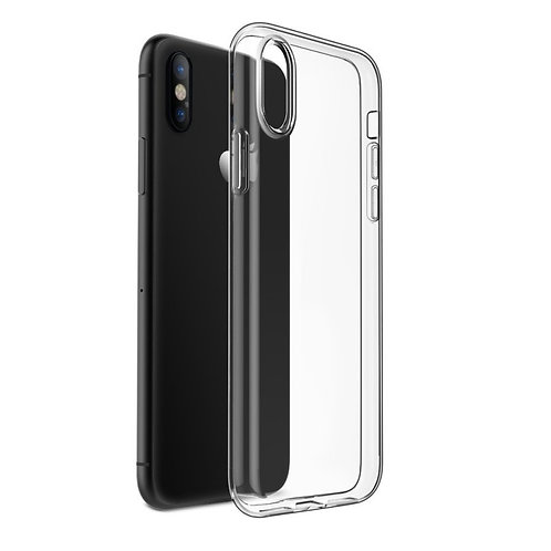 iPhone X / XS - Silikone cover (klar)