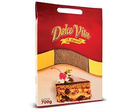 Dolce Vita Soft cake layers dark 700 gr.