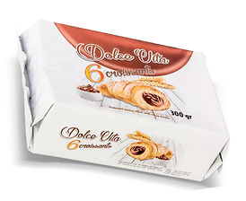 Dolce Vita croissant Cocoa 300 gr. 6 pcs