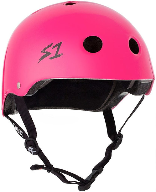 S1 Lifer Helmet - HOT PINK GLOSS