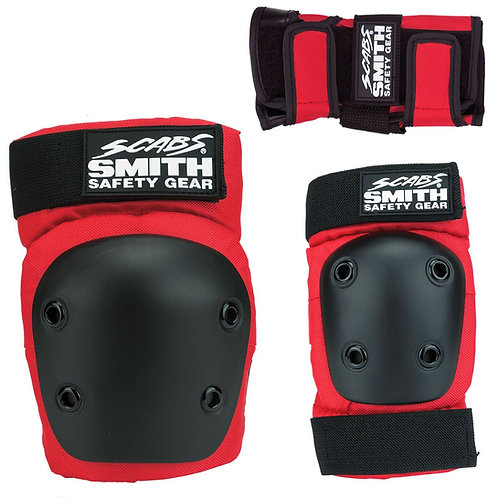 SMITH SCABS - YOUTH 3 PACK RED