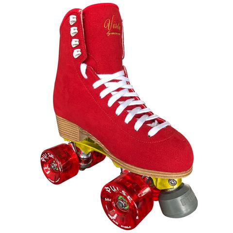 ATOM/ JACKSON Vista Falcon Alloy Roller Skates - RED