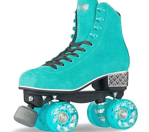 Crazy Skates Evoke Roller Skates -TEAL