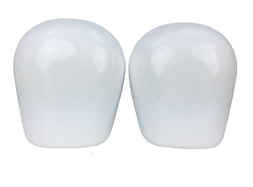 S1 Pro Knee Pad Re-Caps White