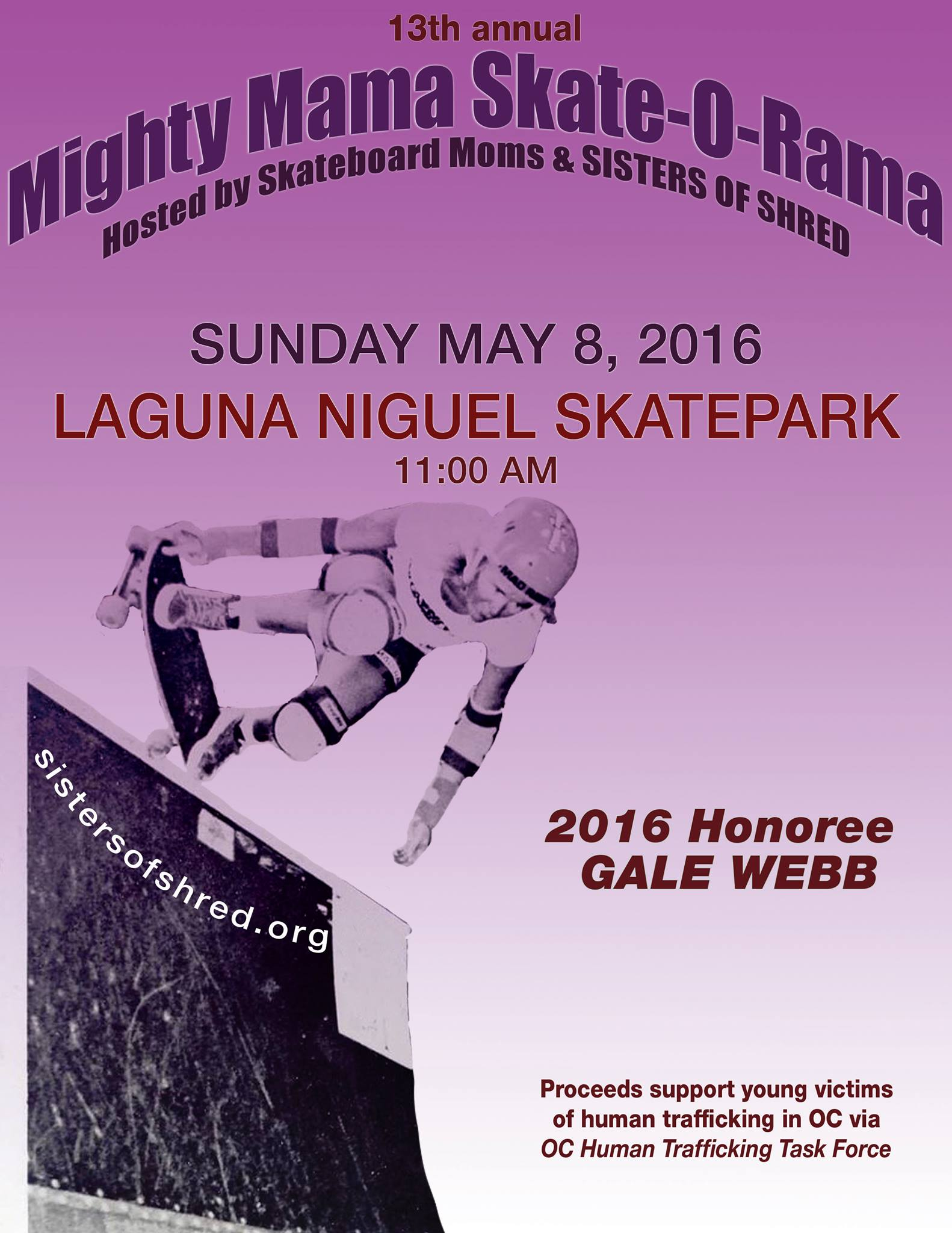 Mighty Mama Skate O Rama Event 2016